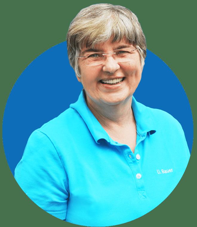 Implantologie Köln: Mitarbeiterin Ute Bauer
