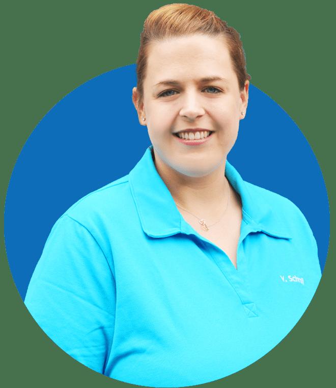 Implantologie Köln: Mitarbeiterin Vanessa Schroll